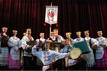 "Folk dance, sound and music company ""REY"""